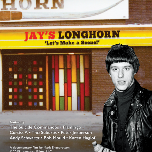 Cover of Jay's Longhorn Blu-ray package